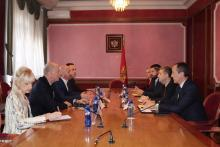MINISTER OF THE INTERIOR AT THE SESSION OF THE  COUNCIL FOR CIVILIAN CONTROL OF POLICE WORK